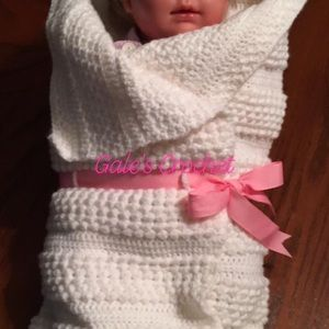Crocheted Baby Sack